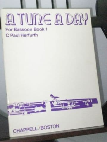 Herfurth C P & Stuart H M -  A Tune A Day for Bassoon Book 1