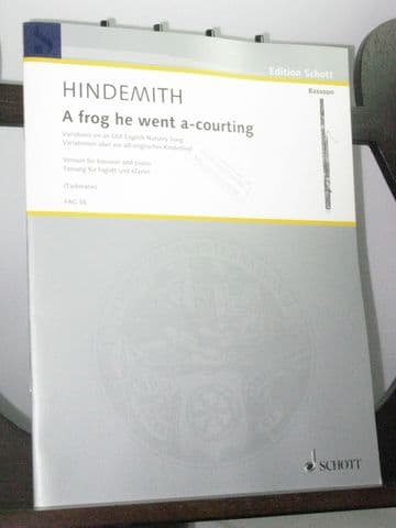Hindemith P - A Frog He Went A-Courting arr Tarkmann A N