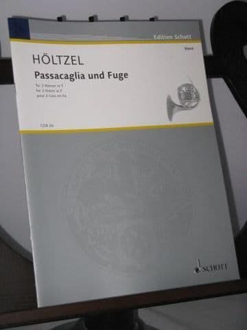 Holtzel M - Passacaglia and Fugue for 2 Horns in F