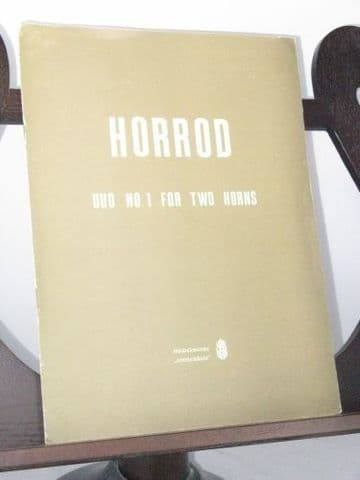 Horrod N S - Duo No 1 for 2 Horns