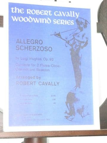 Hughes L - Allegro Scherzoso for 2 Flutes Oboe Clarinet & Bassoon arr Cavally R