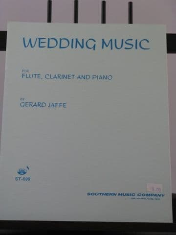 Jaffe G - Wedding Music for Flute Oboe & Piano
