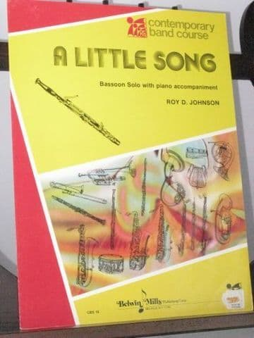 Johnson R D - A Little Song for Bassoon & Piano