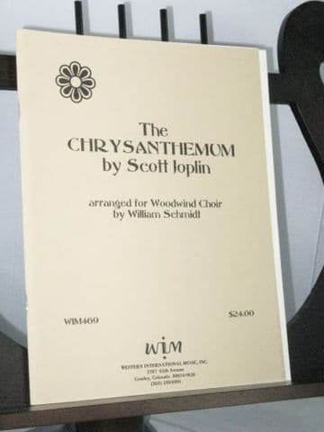 Joplin S - The Chrysanthemum arr Schmidt W