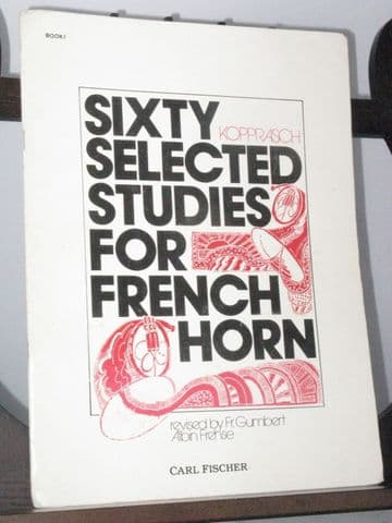 Kopprasch C - Sixty Selected Studies for French Horn Vol 1 Nos 1-34