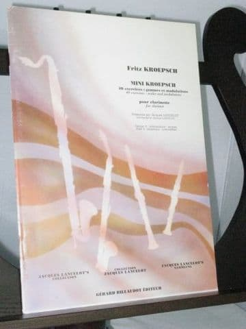 Kroepsch F - Mini Kroepesch Book 3: 40 Daily Exercises - Scales & Modulations