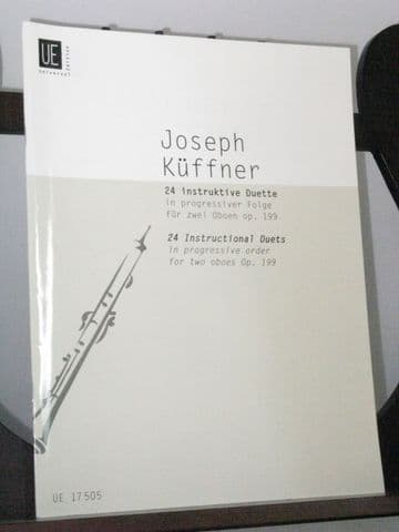 Kuffner J - 24 Instructional Duets Op 199 for 2 Oboes