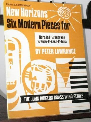 Lawrance P - Six Modern Pieces for Horn in F & Piano