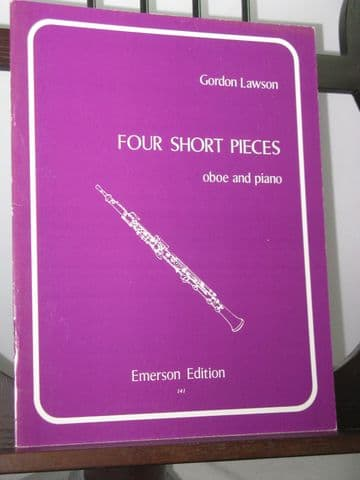 Lawson G - Four Short Pieces for Oboe & Piano