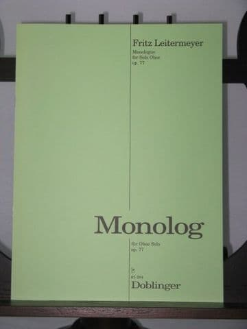 Leitermeyer F - Monologue Op 77