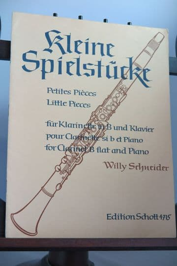 Little Pieces for Clarinet & Piano arr Schneider W