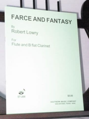 Lowry R - Farce and Fantasy