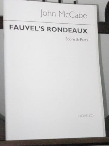 McCabe J - Fauvel's Rondeaux for Clarinet Violin & Piano