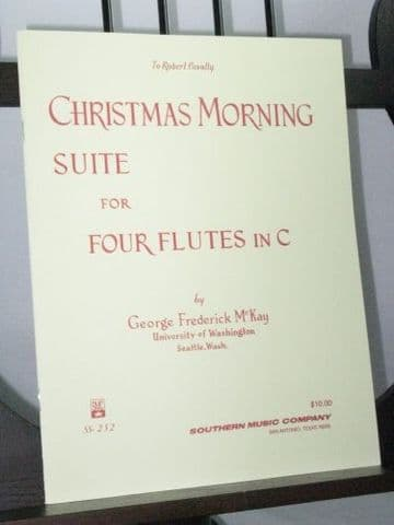 McKay G F - Christmas Morning Suite for 4 Flutes in C