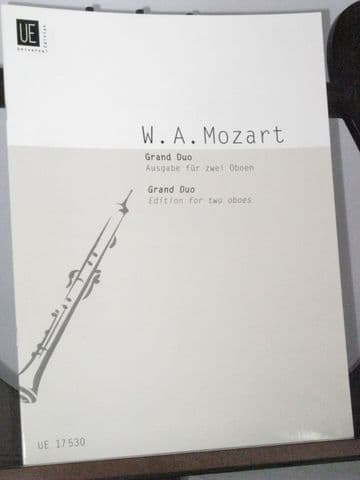 Mozart W A - Grand Duo based on an anonymous arrangement