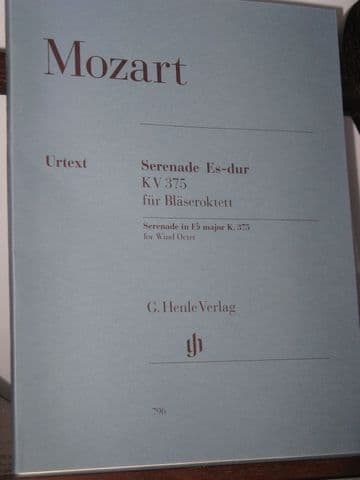 Mozart W A - Serenade in E Flat KV375 for Wind Octet