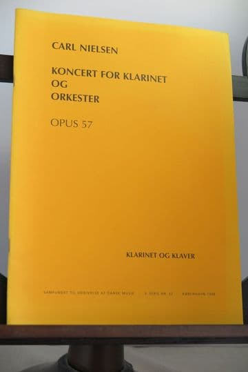 Nielsen C - Clarinet Concerto for Clarinet & Piano [INCOMPLETE]