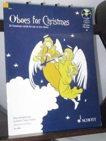 Oboes for Christmas 20 Christmas Carols for 1 or 2 Oboes arr Turner B C