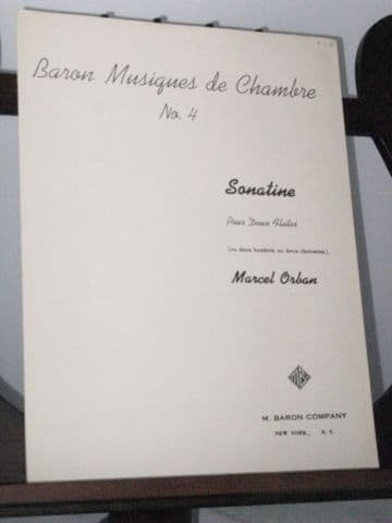 Orban M - Sonatine for Two Flutes