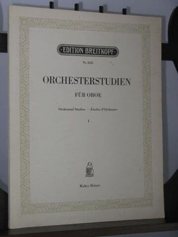 Orchestral Studies for Oboe Vol 1