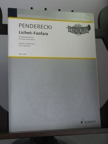 Penderecki K - Lichen-Fanfara for Wind Instruments
