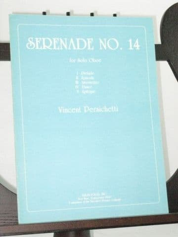 Persichetti V - Serenade No 14 Op 159 for Solo Oboe