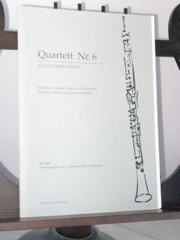 Pleyel I J - Quartet No 6 for Oboe & String Trio
