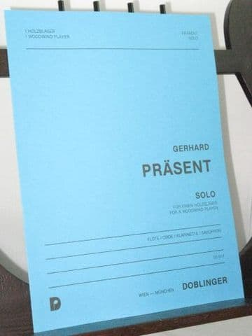 Prasent G - Solo for a Woodwind Player (Oboe)