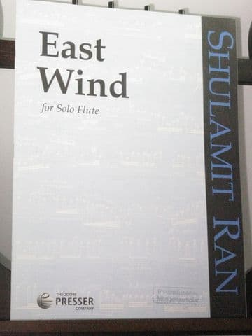 Ran S - East Wind for Solo Flute