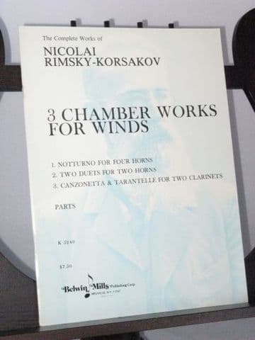 Rimsky-Korsakov N - 3 Chamber Works for Winds