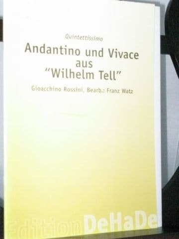 Rossini G - Andantino & Allegro Vivace from William Tell arr Watz F