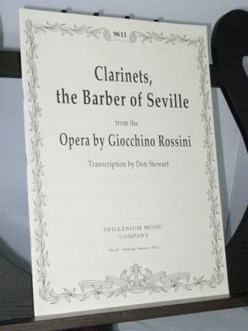 Rossini G - The Barber of Seville Clarinet Excerpts