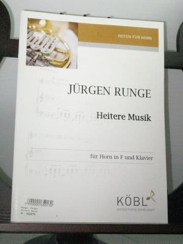 Runge J - Heitere Musik for Horn & Piano