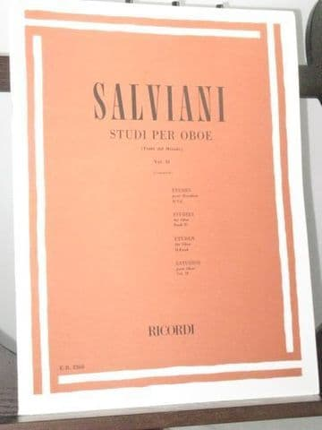 Salviani C - Studies for Oboe Vol 2