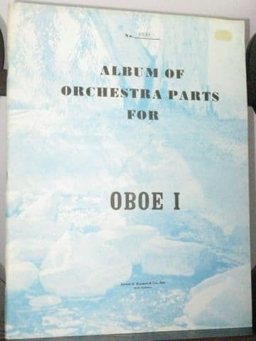 Schumann R - Album of Orchestra Parts Oboe 1 Part