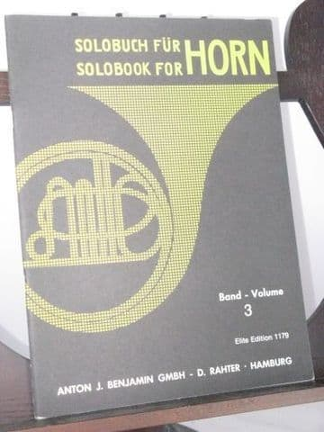 Solo Book for Horn Vol 3 ed Krol B