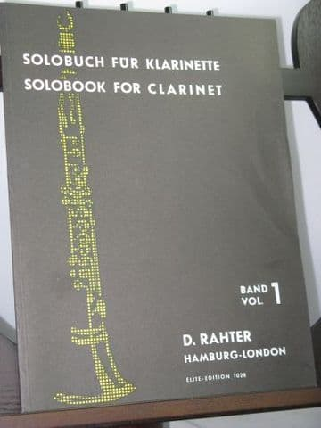 Solobook for Clarinet Vol 1