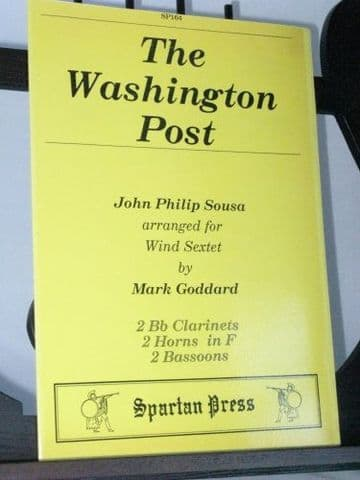 Sousa J P - The Washington Post arr Goddard M