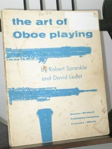 Sprenkle R & Ledet D - The Art of Oboe Playing