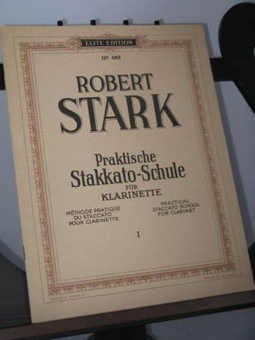 Stark R - Practical Staccato School for Clarinet Vol 1 - Elementary Grade