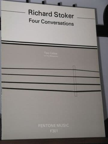 Stoker R - Four Conversations for 2 Bassoons (or 2 Cellos)