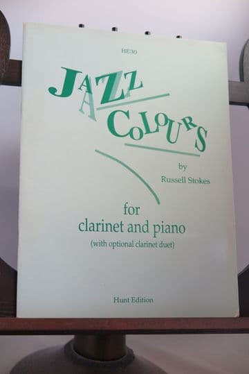 Stokes R - Jazz Colours for Clarinet & Piano