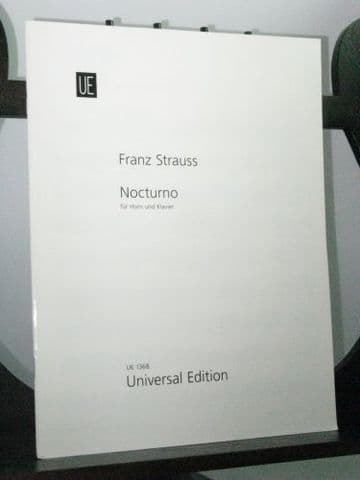 Strauss F - Nocturno Op 7 for Horn & Piano
