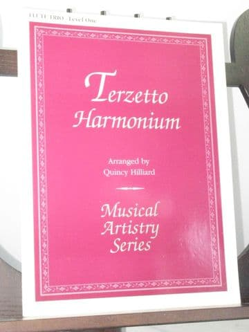 Terzetto Harmonium for Flute Trio arr Hilliard Q