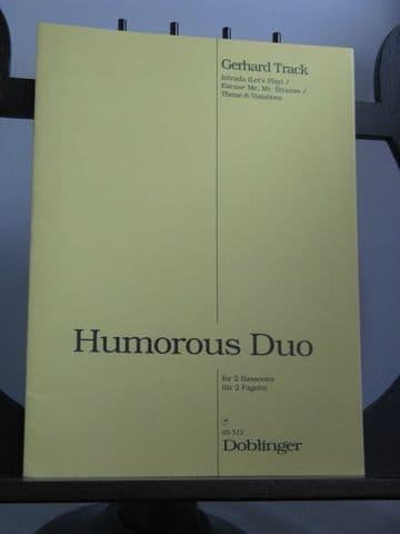 Track G - Humorous Duo for 2 Bassoons