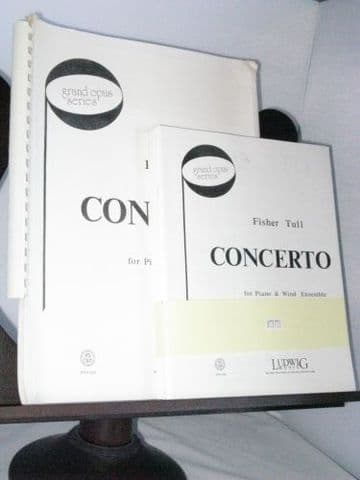 Tull F - Concerto for Piano & Wind Ensemble