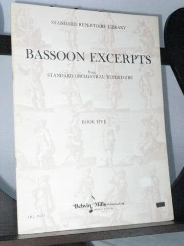 Wagner R - Bassoon Excerpts Book 5