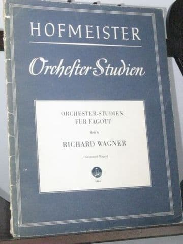 Wagner R - Orchestra Studies for Bassoon Vol 6