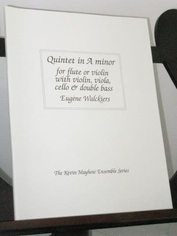 Walckiers E - Quintet in A Minor