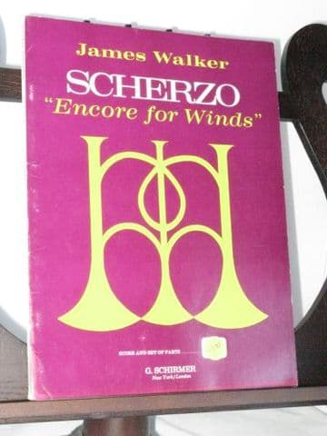 Walker J - Scherzo Encore for Winds
